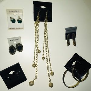Jewelry - 20+20 New earring lot! And pull tir bags!